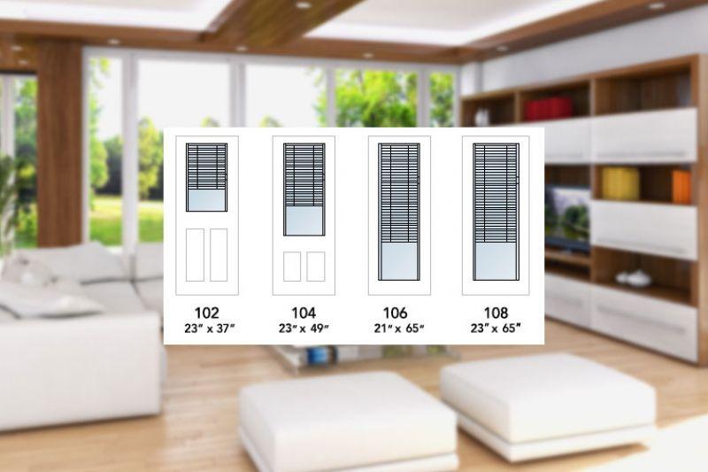 Thermos ou thermos triple avec store horizontaux intégrés